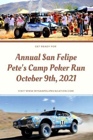 Petes Camp annual poker Run October 2021
