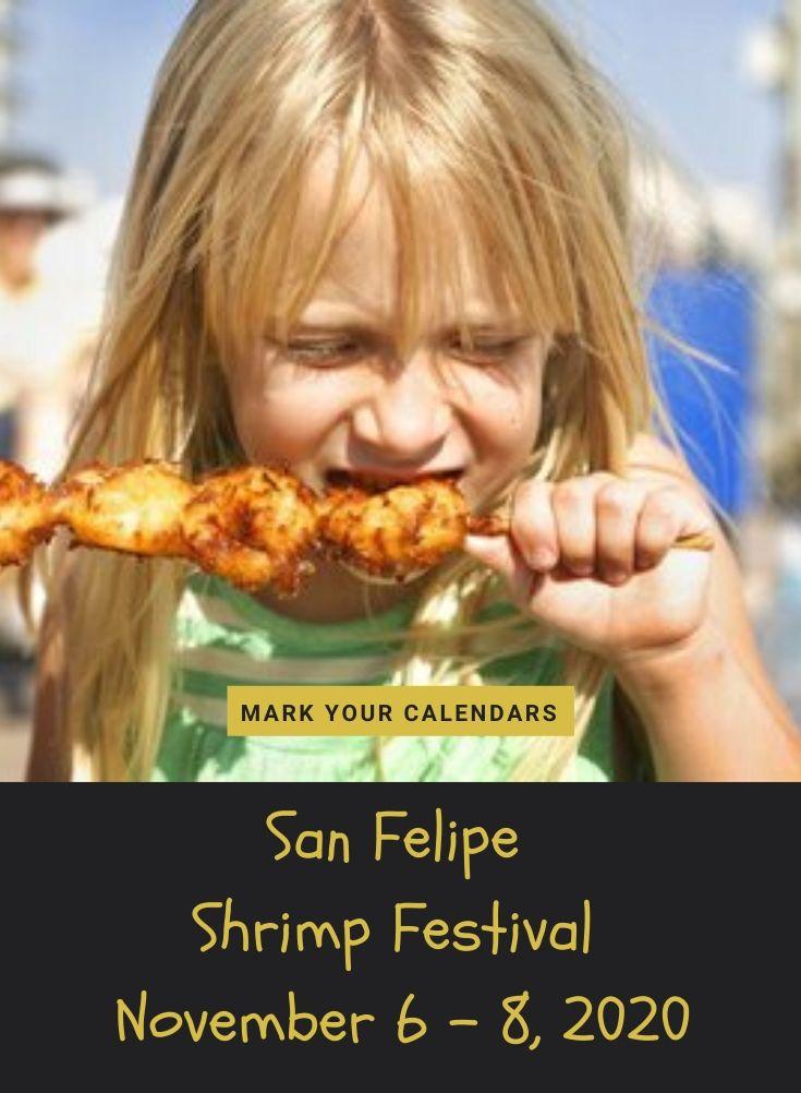 San Felipe Shrimp Festival November 6 - 8, 2020